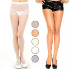 Soft Sturdy Durable Non Run No Snags Control Top Pantyhose Lycra Tights 5 Colors