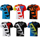 Fox race Riding Jersey T-shirts Men Motocross/MX/ATV/BMX/MTB Dirt Bike 2018