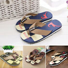 Men Fashion Loafer EVA Slippers Sandals Flip Flops Shoes Beach Casual Slippers