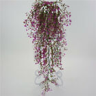 Artificial Hanging Ivy Garland Plants Vine Fake Foliage Flower wisteria Home GL