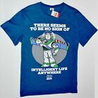 BUZZ TOY STORY T SHIRT LIGHTYEAR NO INTELLIGENT LIFE MENS UK Sizes M - XXL