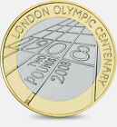 2008 London Olympic Games 2 pounds Coins