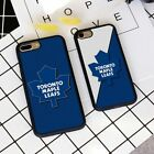 Toronto Maple Leafs Hockey Silicone Soft Case Cover For iPhone 7 8 11 X XS Plus $8.75 USD on eBay