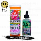 Farley's Gnarly Sauce vape liquid by Bad Drip - 50ml Short Fill