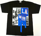LOS ANGELES T-shirt Dopest LA City Of Angels Tee 100% Cotton Mens Black New on Ebay