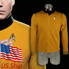 Star Trek Discovery Season 2 Starfleet Captain Pike Shirt Uniform Costumes Badge on eBay
