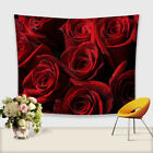 Rose Forest Hanging Wall Tapestry Bohemian Hippie Throw Bedspread Home Yoga Mat
