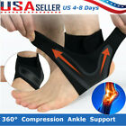 Adjustable Sports Compression Elastic Ankle Brace Support Protector Foot Wrap $4.99 USD on eBay