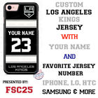 Los Angeles Kings Personalized Hockey Jersey Phone Case Cover for iPhone etc. $20.98 USD on eBay