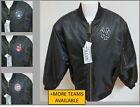NEW Sz S-3XL Black Full Zip Up MLB Quilted Lining MEN Polyester #33S Coat Jacket on Ebay
