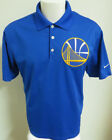 Sz S-2XL Blue Golden State Warriors Nike Dri-FIT Golf db MENS #48A Polo Shirt on eBay