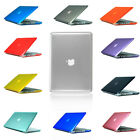 """Crystal For Apple Macbook Pro 13.3"""" Laptop Rubberized Hard Cover Case 2012-2018"""