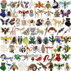 Vintage Animal Insect Butterfly Crystal Pearl Brooch Pin Wedding Party Jewellery