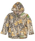 Berne Mens Realtree Edge 100% Cotton Youth Daisy Sherpa Lined Coat Fine