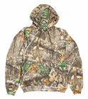 Berne Mens Realtree Edge Fleece Pro Fleece Hooded Pullover