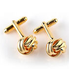 Men's Suits Shirt Knot Twisted Cufflinks Wedding Business Cuff links Gift NicBWH