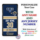 Los Angeles Rams A18 Personalized Football Phone Case Cover Fits Samsung LG etc. $27.98 USD on eBay