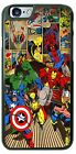 Hulk Spider-Man Thor Superheroes Comic Design Phone Case for iPhone Samsung etc.