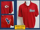 Sz 3XL Red Solid Ogio NFL MENS db Polyester #797 Golf Polo Shirt on eBay