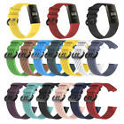 For Fitbit Charge 3 Silicone Wrist Strap Wristband Replacement Watch Band Hole