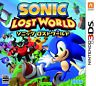 NINTEND DS NDS Import Japan 3DS Sonic Lost World