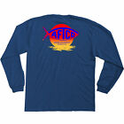 AFTCO Boys Sunrise L-S Tee