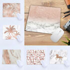 Creative Rose Gold Mouse Pad Marble Pattern Computer laptop Accessories MousePad