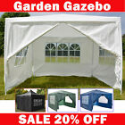 3x 3 4 6 Metres Waterproof Gazebo Tent Marquee Awning Outdoor Canopy Side Panels