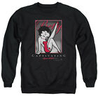 BETTY BOOP CAPTIVATING Licensed Pullover Crewneck Sweatshirt SM-3XL $33.96 USD on eBay