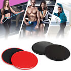 Dual Sided Core Sliders, Total Body Workout Equipment | for use on All Surfaces