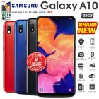 New & Sealed Factory Unlocked Samsung Galaxy A10 Black Blue Red Android Phone