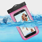 Swimming Waterproof Underwater Dry Bag Pouch Armband Clear Cell Phone Case Cover