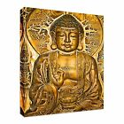 Golden Buddha Tablet Vintage Canvas Art Cheap Wall Print Home Interior