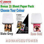 Canon Portable Mini Photo Printer Choose from 2 Colours - Zink Paper Included