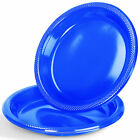 Disposable Round Plastic Plates Tableware BBQ Party Wedding Catering Strong