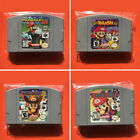 Mario Kart Super Smash Bros Games Party 1 Party 2 Party 3 for Nintendo 64 N64 US