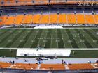 (4) Steelers vs Browns Tickets Upper Level 50 Yard Line 10th Row (Hard Tickets)