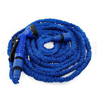 75-200FT Garden Hose Pipe Water Spray Gun 3X Expandable Car Wash High Quality UK
