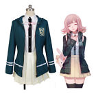Danganronpa Break Cosplay Uniform Chiaki Dress School Girl Costume Set Nanami