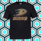 Anaheim Ducks Hockey Logo Men's Black T-Shirt Size S M L XL 2XL 3XL $21.99 USD on eBay