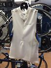 Orca 226 Men's Tri Pocket Singlet, White, all sizes available, NEW! Regular $110