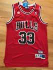 Scotty Pippin #33 Throwback Chicago Bulls Red Mens Jersey