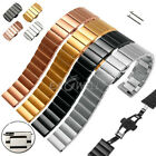 Universal 20/22mm Stainless Steel Watch Band Strap Replacement For Smart Watch