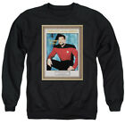 Star Trek TNG EMPLOYEE OF MONTH Riker Number One Crewneck Sweatshirt S-3XL on eBay