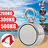 200/300/500KG Double Side Neodymium Magnet Strong Force Fishing Kit+10M Rope New