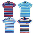 Beautiful Giant Men's Cotton Short Sleeve Strip Pocket T-shirt Polo Shirt image