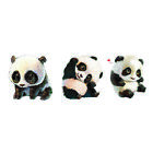 Panda Love Geometry Temporary Tattoo Sticker Body Art Waterproof Fake 10.5X6cm