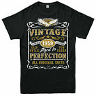 Personalised Made in 1959 Vintage T-shirt, 60TH Birthday Party Age Year Gift Tee