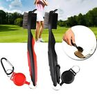 Golf Brush Club Groove Cleaner Retractable Zip-line Cleaning Kit Tool Washer MZZ
