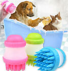 Hair Remover Pet Bath Comb Dog Grooming Brush Cleaner Shedding Massager Tool UK